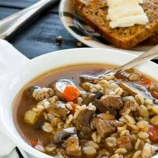 Beef Barley Vegetable Soup Recipe