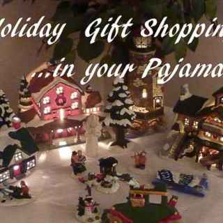 Holiday Gift Shopping In Your Pajamas