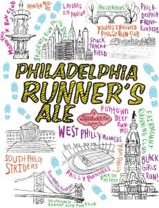 Philadelphia Runners Ale label