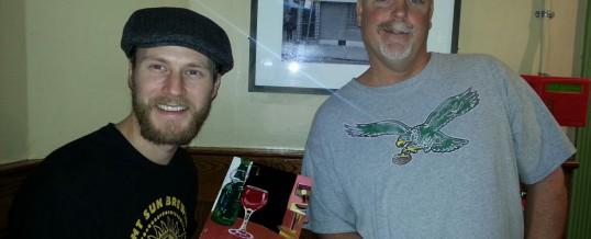 Portrait of an artist and a barkeep