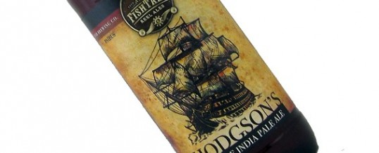 Sixpack of the Week: Fish Brewing Hodgson's Double India Pale Ale