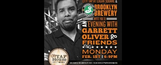 Welcome Brooklyn's Garrett Oliver to Philly (and drink his beer)