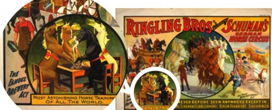 Ringling Brothers Famous Brewery Act, circa 1909