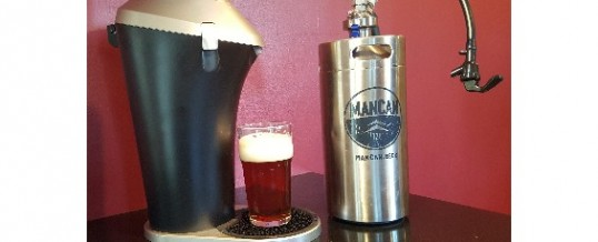 The Mr. Coffee of Beer? Save your money and get a manly mini-keg instead