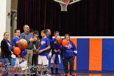 during the Otis-Bison Junior High Boys Basketball games versus Macksville in Otis-Bison Junior High in Bison, Kansas on January 16, 2014. (Photo: Joey Bahr, www.joeybahr.com)