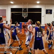 During the Otis-Bison Junior High Cougar Cubs basketball games versus Ness City at Otis-Bison Junior High Gym in Bison, Kansas on January 26, 2015. (Photo: Joey Bahr, www.joeybahr.com)