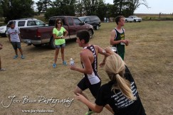 during the Great Bend Cross Country Invitational