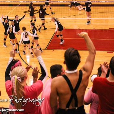 during the Great Bend Lady Panther Volleyball Triangular with the Hillsboro Lady Trojans and the Newton Lady Railers