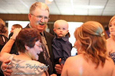during the Wedding of Chris Sohm and Trisha Kolbeck