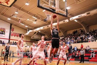 The Buhler Crusaders defeated the Great Bend Panthers by a score of 44 to 36 the Great Bend High School Field House in Great Bend, Kansas on January 12, 2018. (Photo: Joey Bahr, www.joeybahr.com)