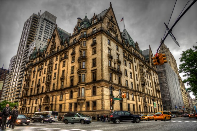 The Dakota Apartments In New York City Home Of John Lennon