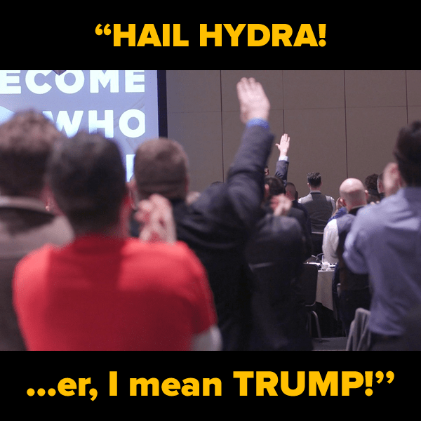 """""""Hail Hydra...er, I mean Trump!"""" - The Adventures of ..."""