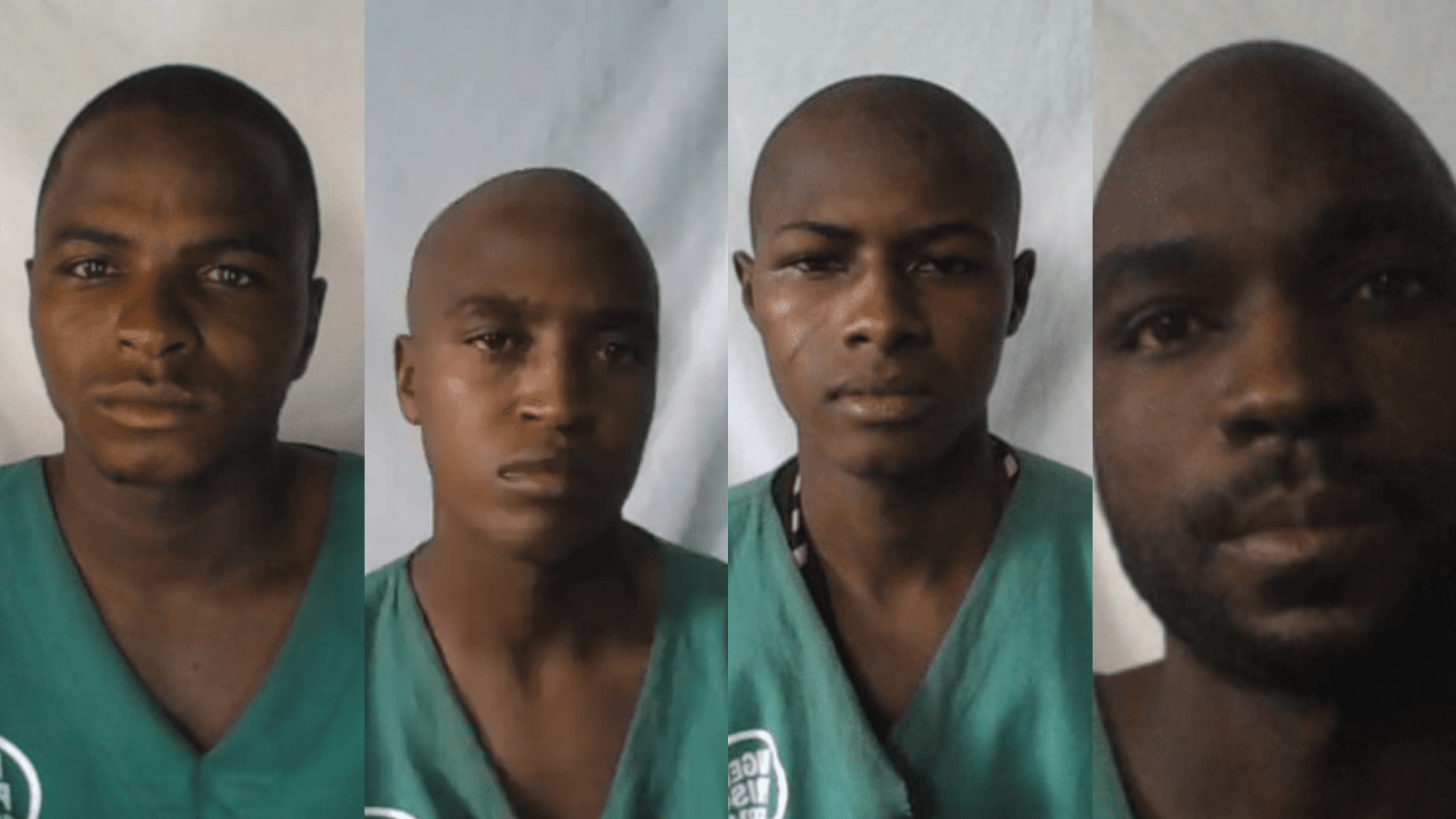 Faces of inmates that escaped from Jos Custodial Centre at about 0200hrs on Friday
