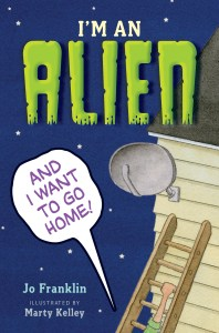 I'm an Alien and I want to go home cover