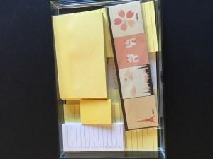 Jo Franklin's post it note drawer