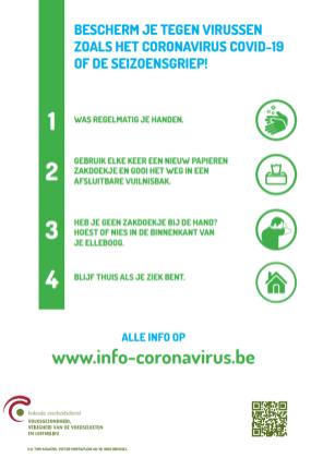 Affiche COVID19 NL