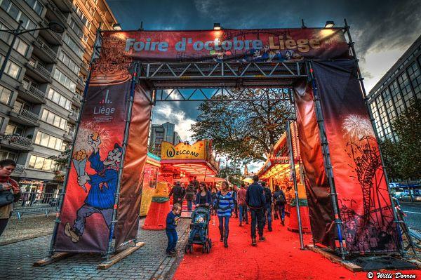 La foire d'octobre à Liège en photo…