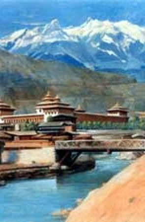 PALACE OF BHUTAN