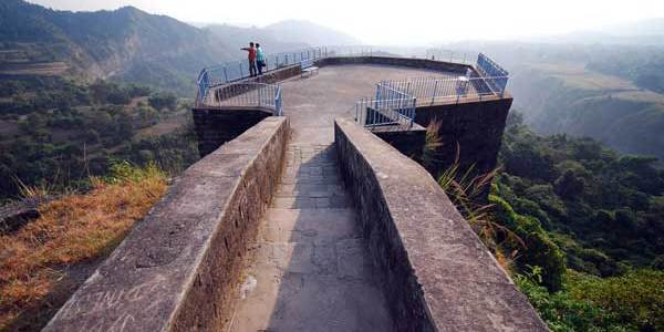 View from the top of Kangra Fort