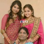 actress kajal raghwani family photo jogira