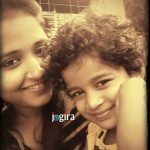 kajal raghwani with family cute boy