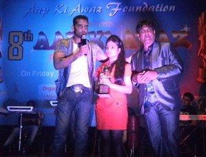 Actor Sudeep Pandey Awarded