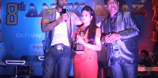 Actor Sudeep Pandey Awarded