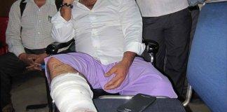 Bhojpuri Megastar Manoj Tiwari Injured