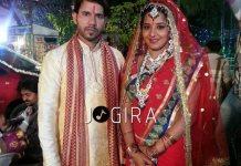 Monalisha wedding in bhojpuri film