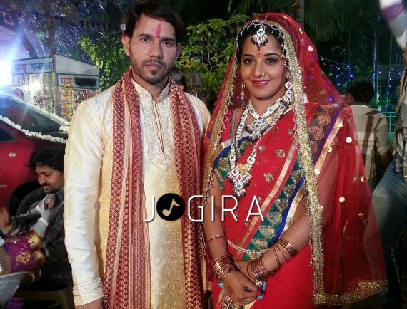 Monalisha wedding in bhojpuri film