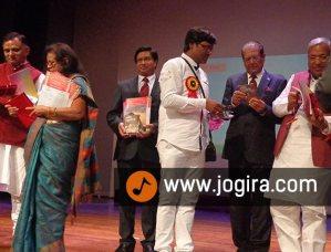 मनोज भावुक को अंतरराष्ट्रीय भोजपुरी गौरव सम्मान, मॉरिशस 2014