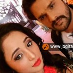 Rani Chatterjee and Khesari lal yadav reached at Comedy nights bachao