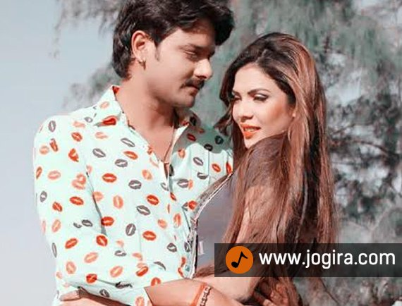 Aanchal soni and Gaurav jha in bhojpuri movie Baap re baap