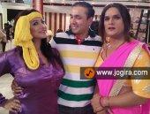 Khesari lal and Sweety chhabra in Bhojpuri film