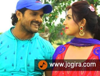 Khesari lal and Sweety chhabra in bhojpuri film Hogi pyar ki jeet