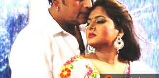 ravi kishan and anjana singh-in bhojpuri film shahenshah
