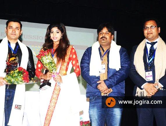 tejal chaudhary in patna film festival