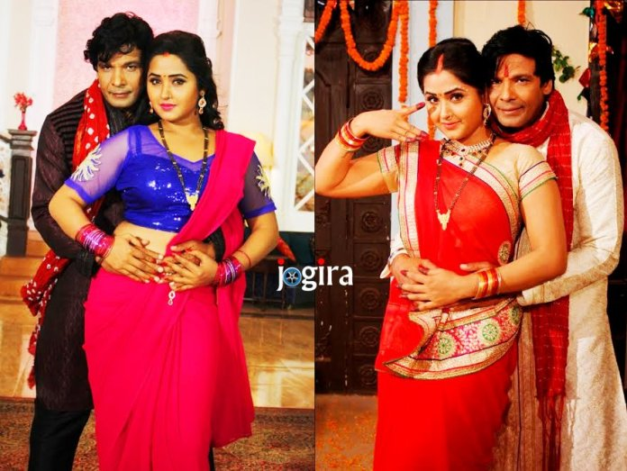 bhojpuri actor biraj bhatt and kajal raghwani wallpaper