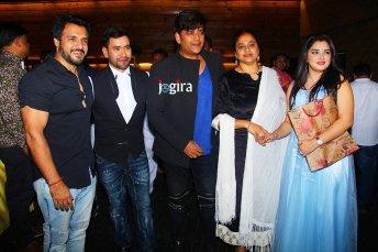 bhojpuri stars in amrapali dubey birthday party
