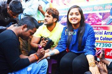 kajal raghwani and khesari lal yadav