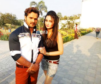 khesari lal yadav and mohini ghosh