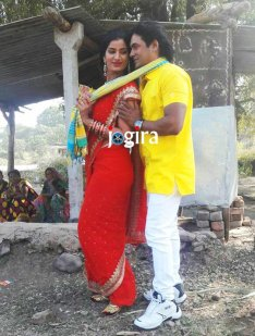 poonam dubey and satendra singh ka photo