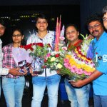uday bhagat and ramchandra yadav in bhojpuri film producer mdhuvendra rai birthday party