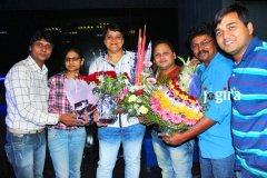 uday bhagat and ramchandra yadav in bhojpuri film producer mdhuvendra rai birthday party