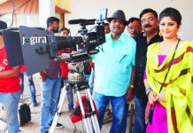neha shree during bhojpuri film arjun pandit shooting