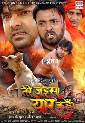 bhojpuri film tere jaise yaar kahan ka wallpepar