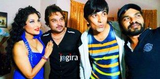 सीमा सिंह और आदित्य मोहन का ठुमका भोजपुरी फिल्म परिवार के बाबू में