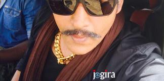 रवि किशन का खतरनाक लुक