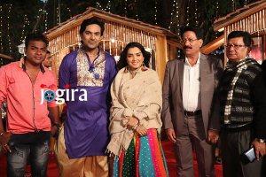 आम्रपाली दुबे और आदित्य मोहन फिल्म काजल में