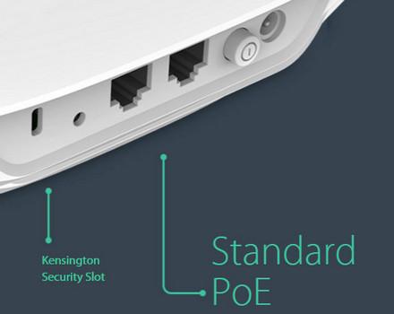 TP-Link EAP120 Desain pemasangan PoE yang mudah